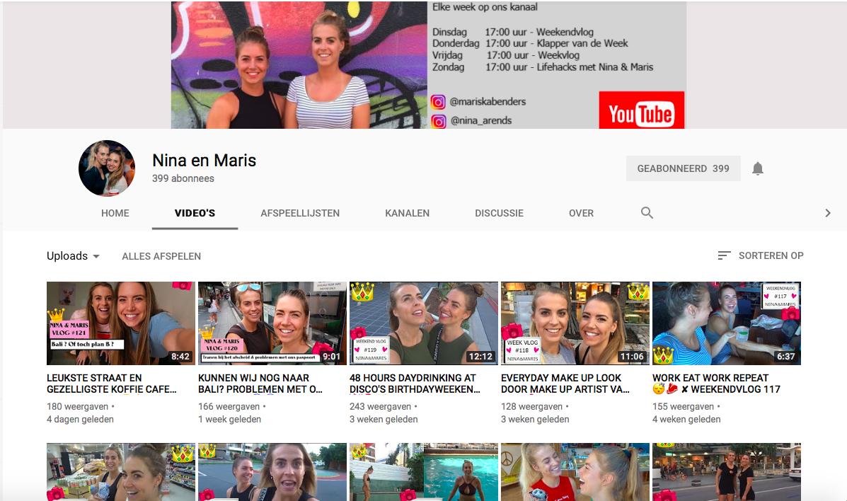Maiden Magazine Nina Mariska Travel Vloggers Youtube