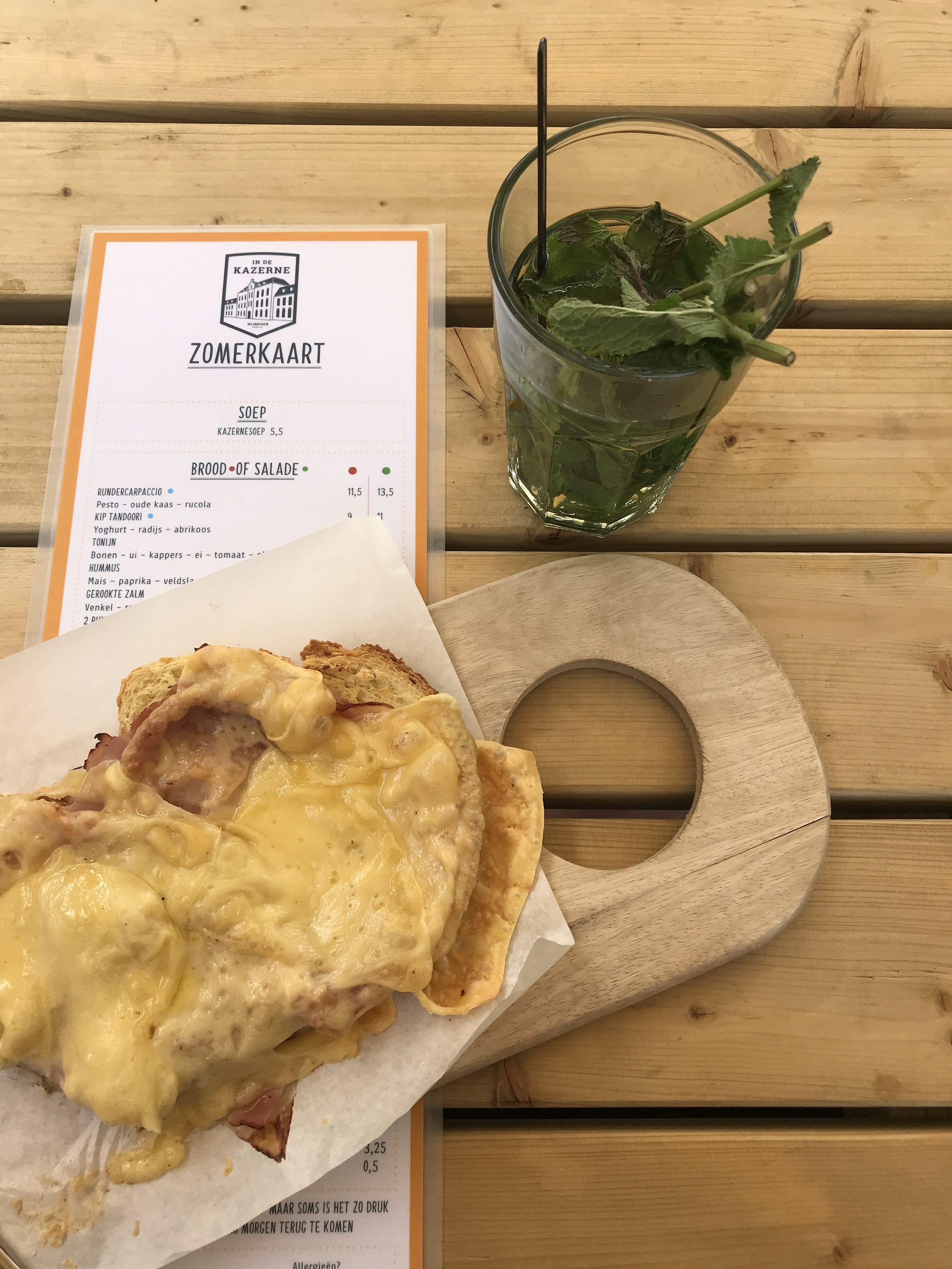 In de kazerne hotspot Nijmegen Maiden Magazine tosti food